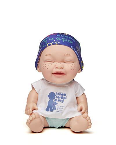 Muñeco Baby Pelón, Diseñado por Alejandro Sanz, Juguete Solidario con Olor a Vainilla, 20 x 10 x 20 cm
