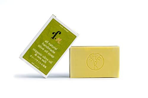 family. nostalgia | natürliche handgemachte Olivenölseife, ohne Parfum, vegan, ohne Palmöl | all natural handmade 100% Kalamata extra virgin olive oil soap 120 g (organic)
