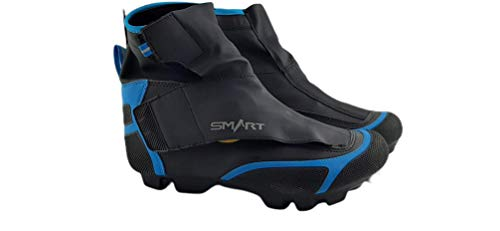 Smart Fahrradstiefel, Fahrradstiefel, Schwarz und Blau, Gr., Schwarz - Schwarz - Größe: 43 EU