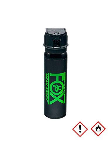 OBRAMO Fox Labs Mean Green 90ml Nebel Pfefferspray mit grünem Farbstoff Abwehrspray Tierabwehrspray extrem Stark