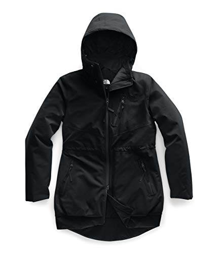 The North Face Women's Millenia Insulated Jacket, TNF Black, L