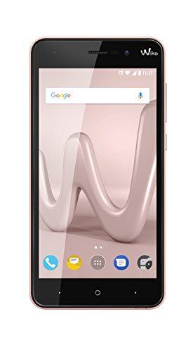 Wiko Lenny 4 12,7 cm (5 Zoll) Smartphone (8MP Kamera, 16 GB internen Speicher, 1GB RAM, Dual-SIM, Android Nougat) rose gold
