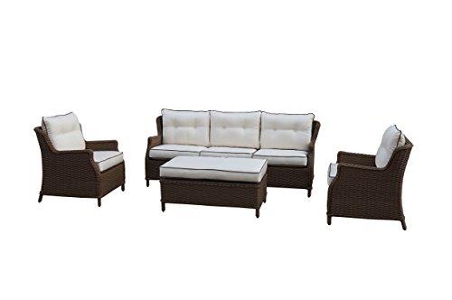 Gartenmöbel Lounge Set Sitzgruppe mit S auf schoene-moebel-kaufen.de ansehen