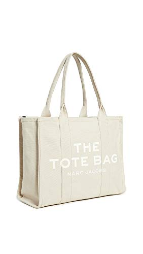 The Marc Jacobs Women's The Large Tote Bag, Beige, Off White, Graphic, One Size