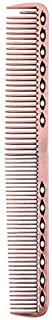 Coobbar 1pcs Anti-static Stainless Steel Hair Combs Hair Styling Hairdressing Barbers Combs (Rose Gold) [並行輸入品]