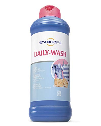 DAILY-WASH Freshness Provençal Soap Laundry Detergent White & Colours Large 1500 ml