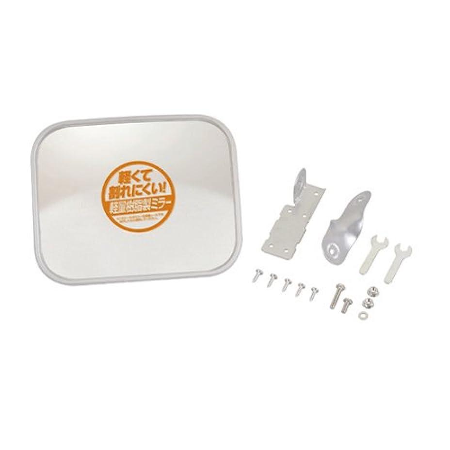 完全に乾く奨励ゆるくエーモン 安全計画 ガレージミラー 角(S) 曲面率650R 約190×240mm V661