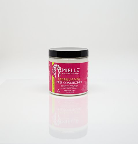 Mielle Organics Babassu Oil Mint Deep Conditioner 8oz