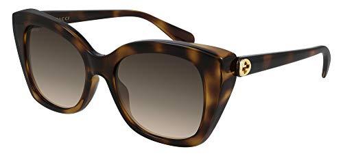 Gucci Gafas de Sol GG0921S Havana/Brown 55/19/145 mujer