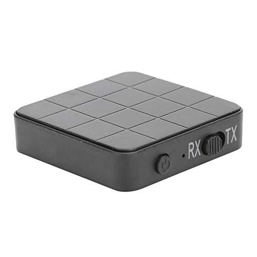 DAUERHAFT con Cable Auxiliar de 3,5 mm Adaptador inalámbrico Bluetooth Adaptador de Audio Teléfonos habilitados para Bluetooth 2 en 1, para computadora portátil, estéreo, para computadora con TV