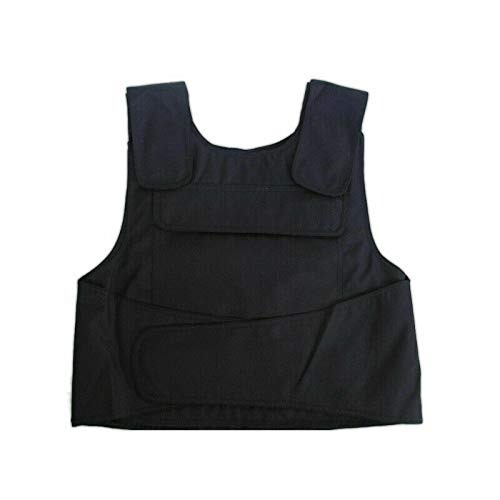 TFCFL Pro Stichschutzweste Weste Security Stichhemmende Schlagschutzweste Schutzweste schützt Brust und Rücken