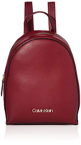 Calvin Klein Damen Ck Must Psp20 Sml Backpack Tote, Rot (Tibetan Red), 13x40x30 centimeters