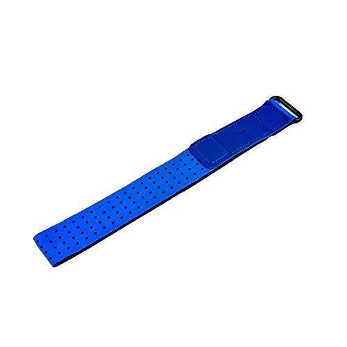 Chofit - Fascia da braccio compatibile con Fitbit Inspire 2/Inspire HR/Charge 4/Charge 3/Charge/Alta/Alta HR/Flex/Fitbit One, cinturino da braccio per fitness tracker accessori (blu)
