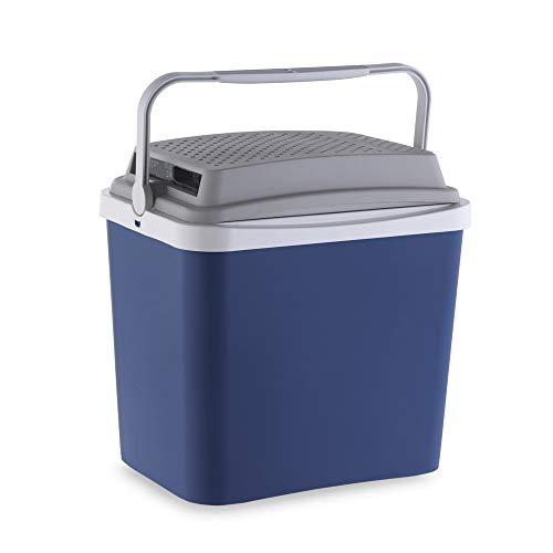 Campos 75228 Elektrische Kühlbox 12 V 24 Liter Fassungsvermögen, Blau