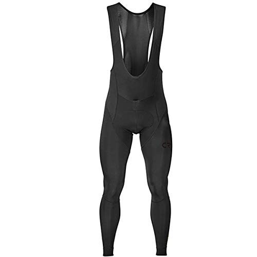 Men's Cycling Bib Tights 4D Padded Winter Thermal Wear Up Classic Series Bike Pants Outdoor Leggings Cycle Riding Bike Clothes (M, BIB) Black