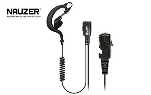 NAUZER PIN-29-TPH-700 Pinganillo Profesional Micro-Auricular para Walkie Talkie Matra EADS Jupiter TPH-700 TETRAPOL