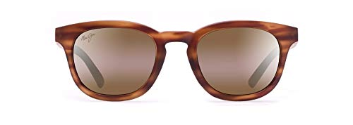 Maui Jim unisex adult Koko Head Sunglasses, Matte Tortoise/Hcl Bronze Polarized, Small US