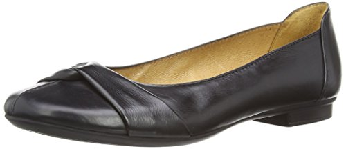 Gabor Shoes 04.111_Gabor Damen Geschlossene Ballerinas, Schwarz (27 schwarz), 40 EU