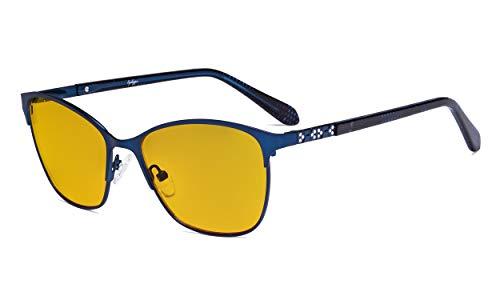 Eyekepper Dames blauw licht blokkerende glazen - UV420 bescherming groot kattenoog computer bril vrouwen - anti-scherm blauwe stralen