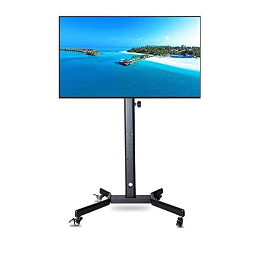 Soporte universal para TV de sobremesa Soporte giratorio universal para TV para la mayoría de televisores de 32-52 pulgadas LCD LED OLED Plasma Flat Curved Altura ajustable con gestión de cables Max