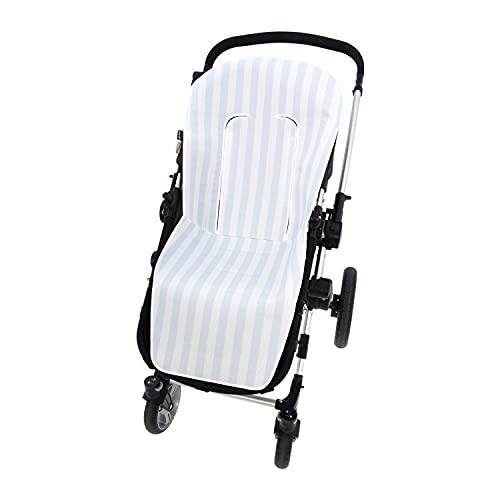 Sommerbezug für Kinderwagen, universal, Rosy, für Kinderwagen, atmungsaktiv, kompatibel mit Bugaboo, Jane, Concord, Baby Jogger, Bebecar, Inglesin, Himmelblau