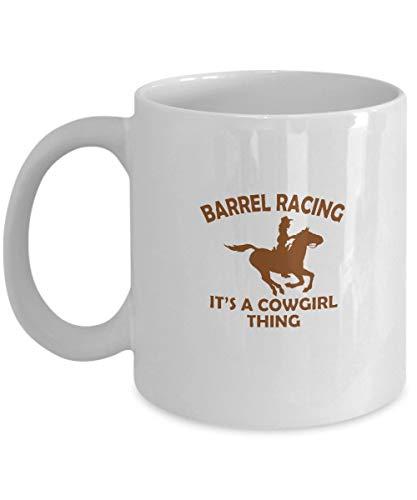 Taza de café Barrel Racing Tea Cup