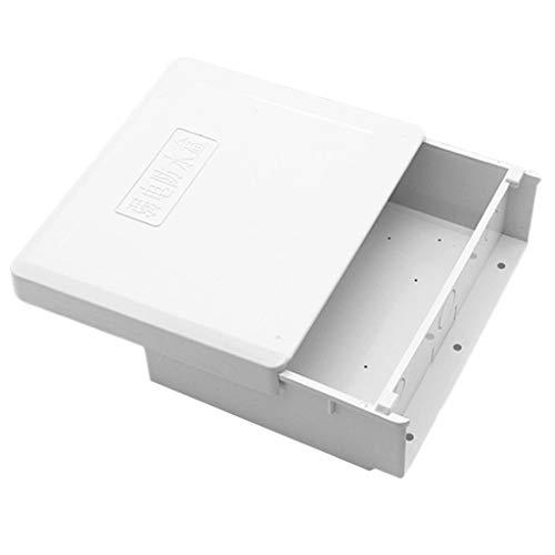 perfk Caja de Empalmes de Plástico Conexiones Multifunción Impermeable y Resistente a Humedad - modelo 2