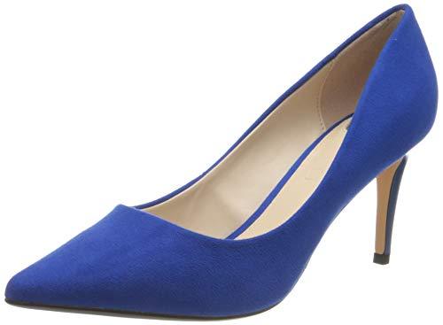Buffalo Damen Fanny 2 Pumps, Blau (Electric Blue 001), 39 EU