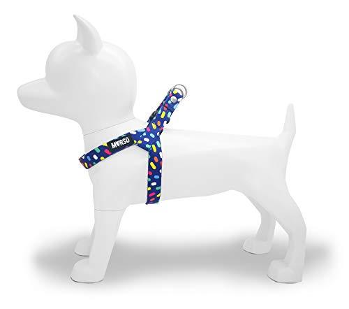 MORSO 7109 Pettorina Mini per Cani di Piccola Taglia, XXS, Multicolore
