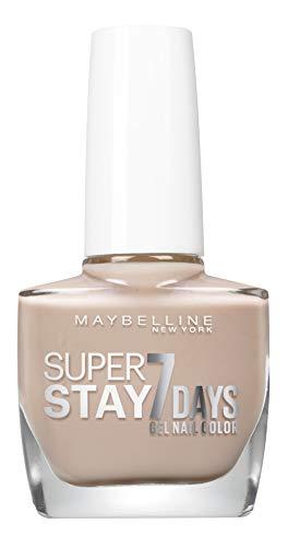 Maybelline New York – Vernis à Ongles Professionnel – Technologie Gel – Super Stay 7 Days – Teinte : Greige (890)