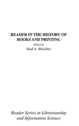 Reader in the History of Books and Printing