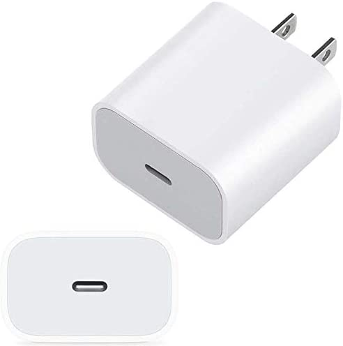 20W USB-C Type C Wall AC Adapter/Fast Charger for New Beats Flex & Other Wireless Bluetooth Earbuds and Speakers Needing USB C Charging Port