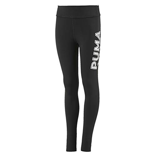 PUMA Mädchen Modern Sports G Leggings, Black/White, 164