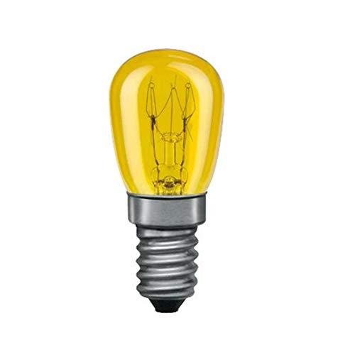 Paulmann 800.12 Birnenlampe 15W E14 Glas Gelb 80012 Leuchtmittel