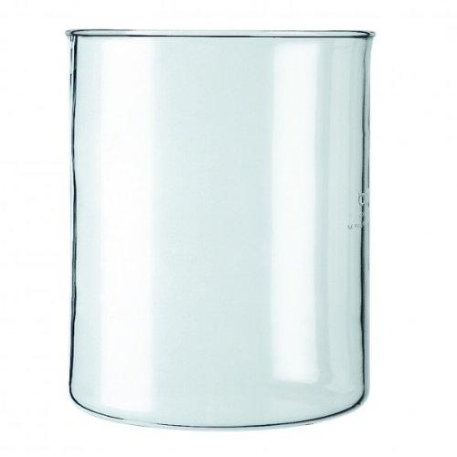 Bodum Spare Beaker Ersatzglas ohne Ausguss für Kaffeebereiter, 4 Tassen, 0.5l, Transparent, 01-11142-10