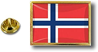 Spilla Pin pin's Spille spilletta Giacca Bandiera Distintivo Badge Norvegia