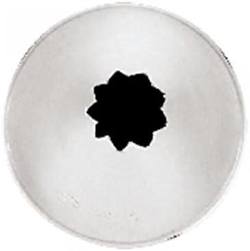 Paderno World Cuisine Pointe /à p/âtisserie cannel/ée en acier inoxydable Taille 2