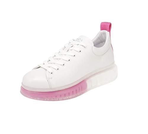 Maca Kitzbühel 2832 - Damen Schuhe Sneaker - White-pink, Größe:38 EU