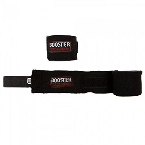 Booster Bandagen, schwarz, halbelastisch, 4.6 m, Hand Wraps, Wickelbandagen, MMA