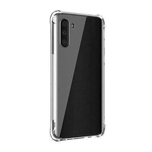 Transparent Weich TPU-HandyhüLle Klapp Handy HüLlen Handy PanzerhüLle Clear Slim Fit Handy Case Silikon SilikonhüLle Schutztaschen Smartphone Case Over Für Samsung Galaxy Note 10