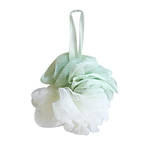 Yubenhong Badeschwamm, Duschschwamm, Mesh-Luffa-Körperpeeling-Pinsel, sauberer Luffa-Schwamm zum Baden, bequem und weich Körperpeeling für große volle Schaum-Reinigung…