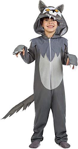 Disfraz de Lobo Infantil (5-6 años)