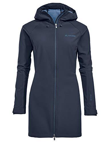 VAUDE Damen Skomer Softshell Coat, blau(eclipse), 36