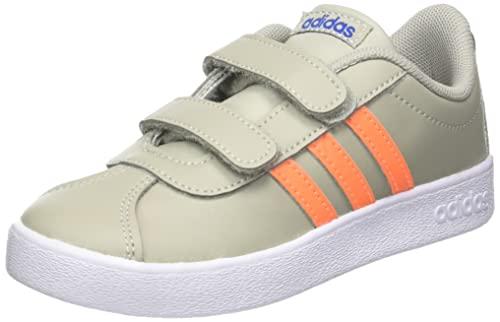 adidas VL Court 2.0 CMF, Sneaker Unisex bebé, Grimet Narchi Azurea, 26 EU