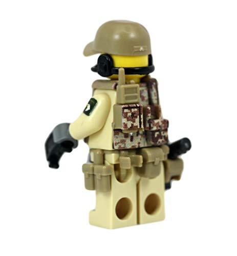 Army Airborne Ranger Sniper - Modern Brick Warfare Custom Minifigure
