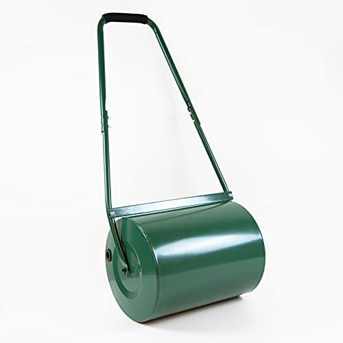 Marko 30L Lawn Roller Garden Grass Manual Push Along Water Sand Drum...