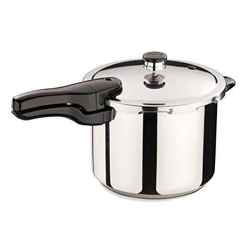 Presto 01362 6-Quart Stainless Steel Pressure Cooker (Renewed)
