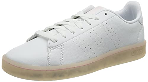 adidas Advantage, Zapatillas de Tenis Mujer, FTWBLA/FTWBLA/ROSCLA, 38 EU