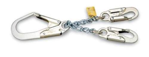 Miller Titan by Honeywell T8221/ Locking Rebar Chain Assembly with Two Locking Snap Hooks
