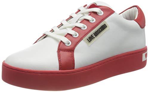 Love Moschino SS21, Zapatilla. Mujer, Color Blanco, 39 EU
